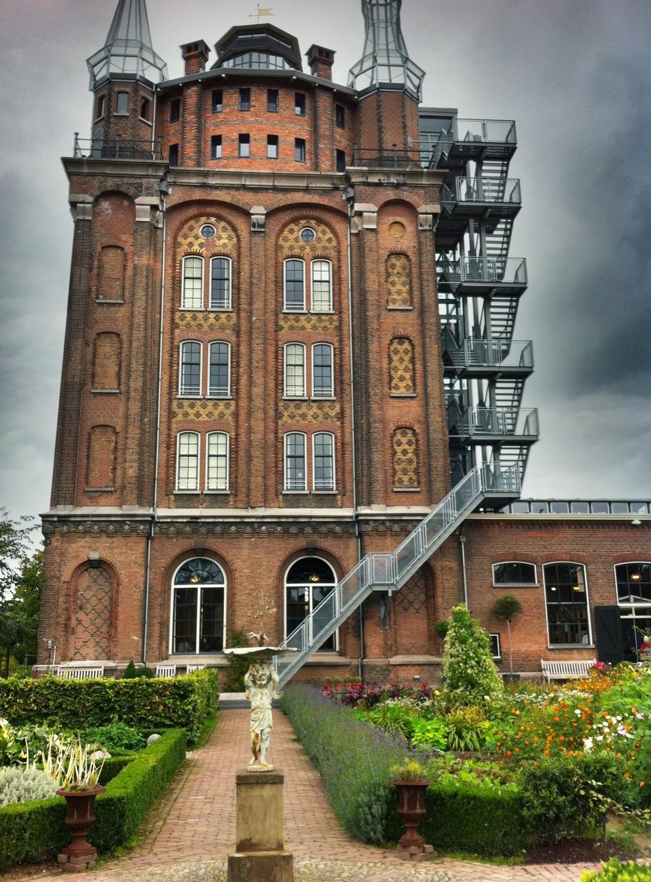 Villa augustus in dordrecht nederland monumentenland - Kubieke villa ...